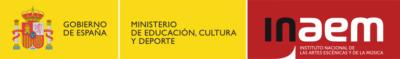 logos Gobierno de España - Instituto Nacional de Artes Escénicas y de la música