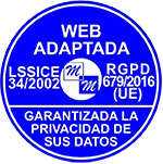 sello web adaptada RGPD UE